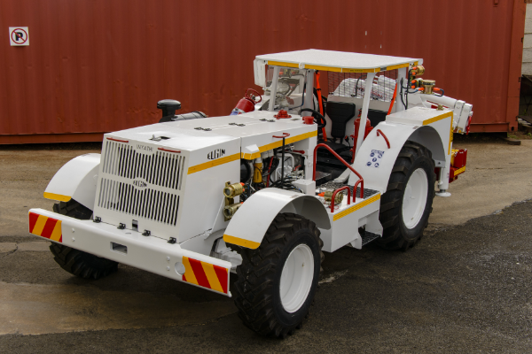 Elgin Flameproofing's hot flameproof underground tractor